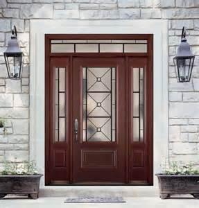 Solid Interior Doors Home Depot belleville mahogany textured 1 panel hollister door 3 4