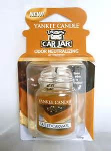 Yankee Candle Air Freshener Car Tesco Yankee Candle Ultimate Car Jar Salted Caramel Air