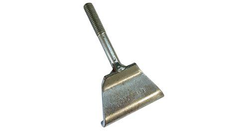 gutter clip bolt down