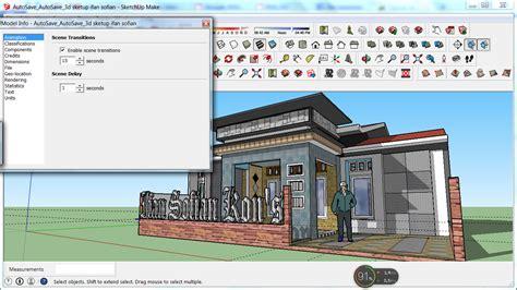 membuat video animasi dari sketchup ifns hc membuat rumah 3d dan animasi di sketchup