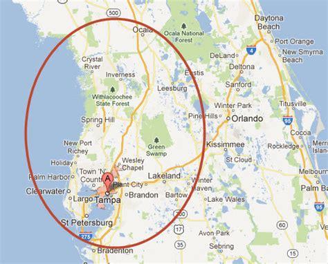 central florida orlando area map orlando area map