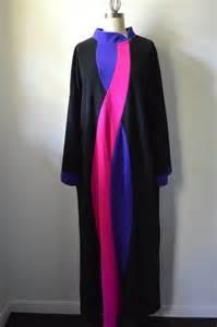 Vanity Fair Robes Vintage Robe 1970 S Vanity Fair Length Black By