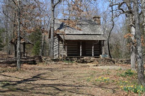Starve Hollow Cabins by Woolly Cabin At Woolly Hollow State Park Arkansas