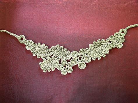 crochet pattern jewelry free pattern crochet necklace crochet jewelry and kewl