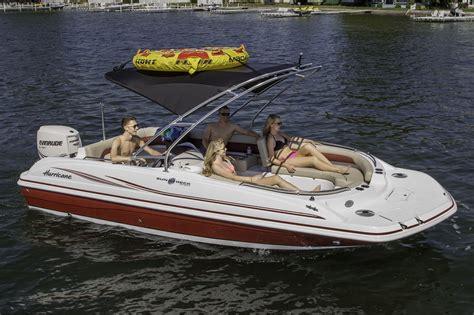 hurricane deck boat wakeboard tower new 2014 hurricane sundeck sport ss 201 ob boat for sale