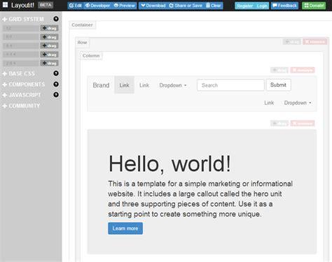 Layoutit Css | フレームワーク ページ 2 web時短ツール