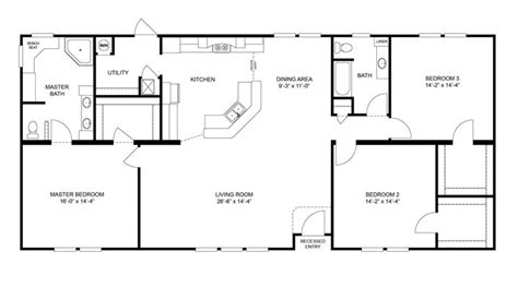 this one clayton homes home floor plan