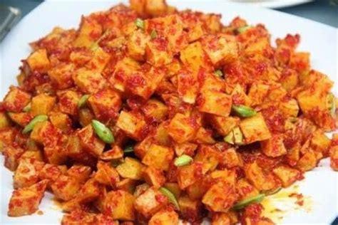 Keripik Balado Panjang 1 resep kentang balado enak mudah
