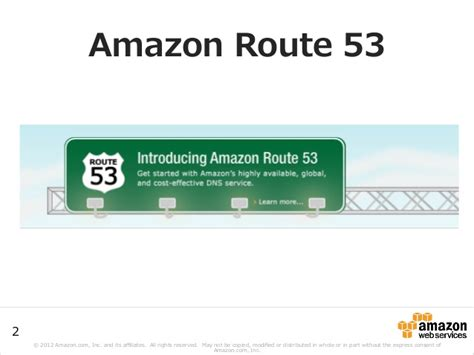 amazon route 53 aws black belt techシリーズ amazon route53