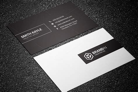 black business card template microsoft word 32 black business cards free printable psd eps word