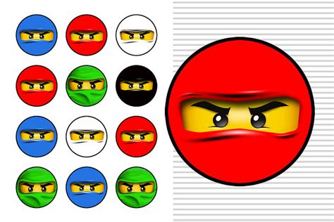 printable ninjago stickers ninjago free printable toppers labels images and