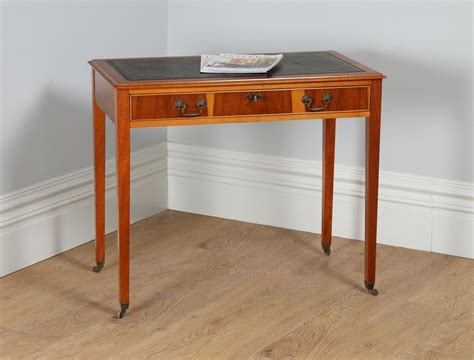 cherry wood writing desk antiques atlas georgian style cherry wood leather