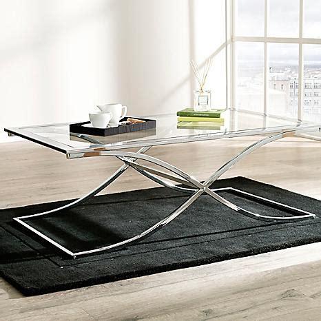 chrome coffee table uk houston glass chrome coffee table by kaleidoscope