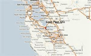 where is palo alto california on a map east palo alto location guide