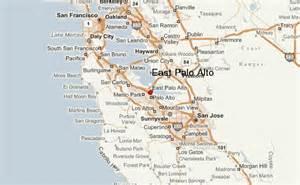 palo alto california map east palo alto location guide