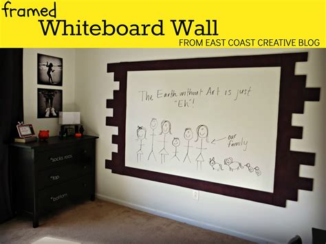 whiteboard for bedroom how to paint a whiteboard wall east coast creative blog