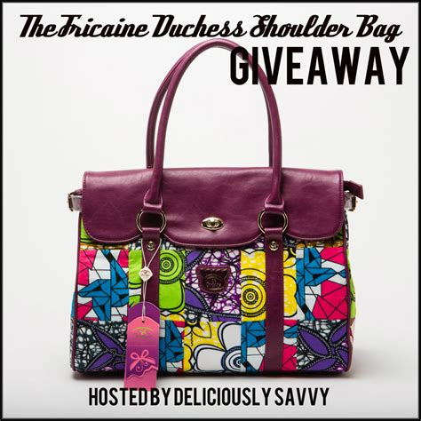 Handbag Giveaway - the fricaine duchess shoulder bag giveaway fricaine jamericanspice