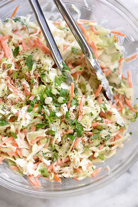 printable coleslaw recipes how to make the best creamy coleslaw foodiecrush com
