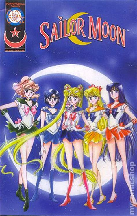 my is a sailor books sailor moon 2nd printing comic books