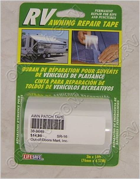 canvas awning repair tape awning repair tape 38 8649 re3848 15 95 out of