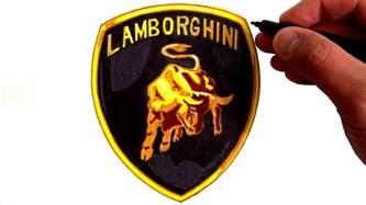 Lamborghini Sign How To Draw The Lamborghini Logo
