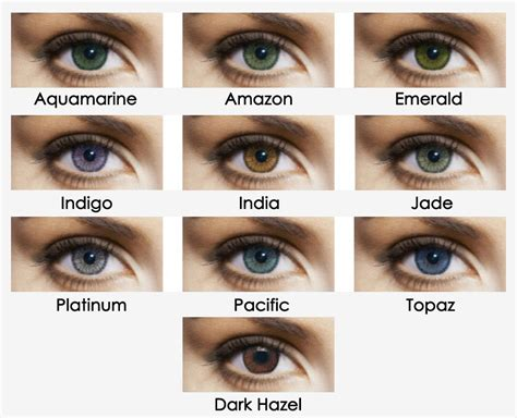 Softlens Solotica 1 soflens colors contact lenses with colours