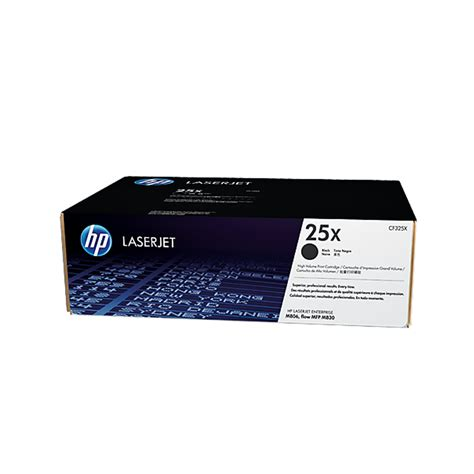 hp toner 25x black cf325x
