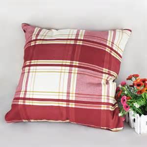 Sofa Pillows On Sale Decorative Throw Pillows Set Living Room Use Handmade Sofa Pillowcase Grid Pillows