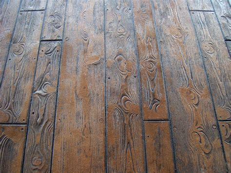 wood pattern sted concrete wood plank pattern close up of the wood plank pattern