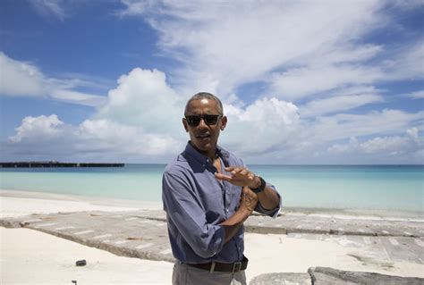 obama island obama on midway atoll speaks of protecting planet