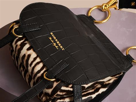 Introducing The Burberry Bag by Sculptural Shearling Flight Jacket Burberry