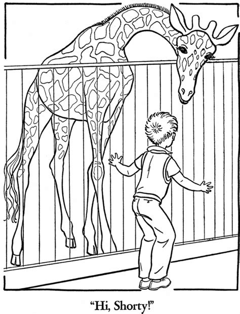 Drawing Zoo by Zoo 12 Animals Printable Coloring Pages