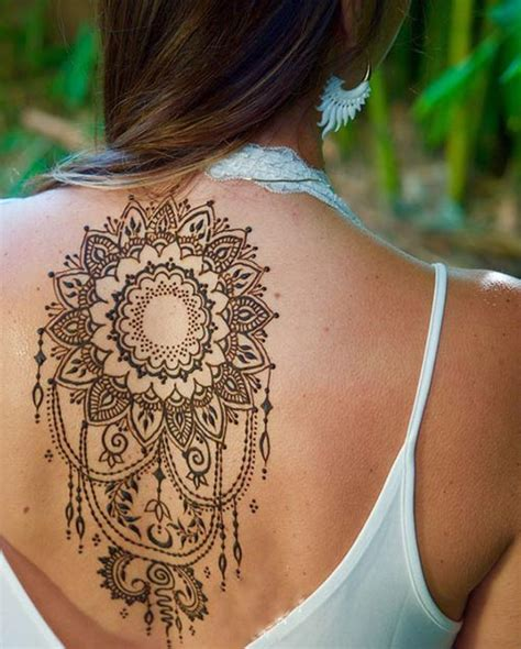 henna inspired tattoo designs 15 back henna tattoos meant for henna