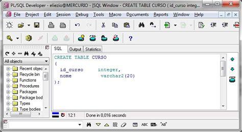 oracle tutorial create table oracle alter table criando e alterando tabelas no oracle