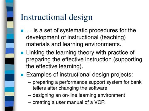 Instructional Design Using Powerpoint | ppt basics of the instructional design powerpoint