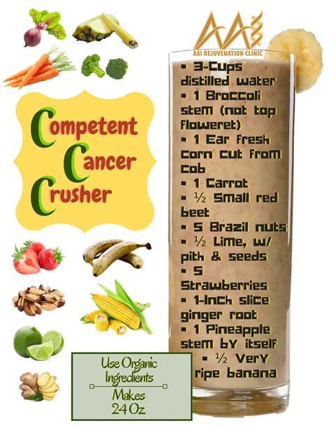 Detox Cancer Preventing Smoothie by Cancer Fight Preventing And Immune System Smoothies Aai