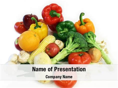 powerpoint themes fruit and vegetables fruits and vegetables powerpoint templates fruits and