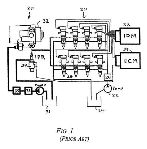 dt466 fuel system diagram 7 3 powerstroke fuel system diagram 7 free engine image