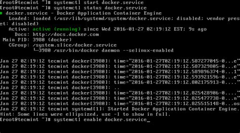 docker tutorial for centos 6 install docker and learn basic container manipulation in