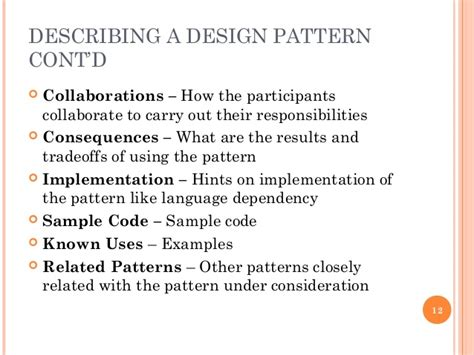pattern is closely related to which of these answers com introduction to design patterns