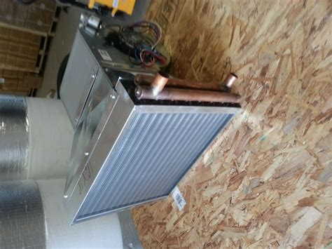 outdoor wood furnace boiler heat exchanger wblowerair