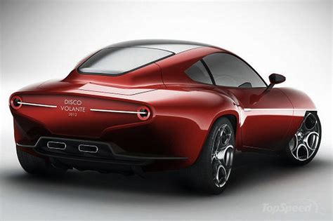 Alfa Romeo Superleggera by 2012 Alfa Romeo Touring Superleggera Disco Volante Concept
