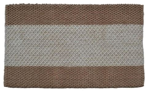 Wide Welcome Mat Wide Stripes Mat Contemporary Door Mats By Overstock