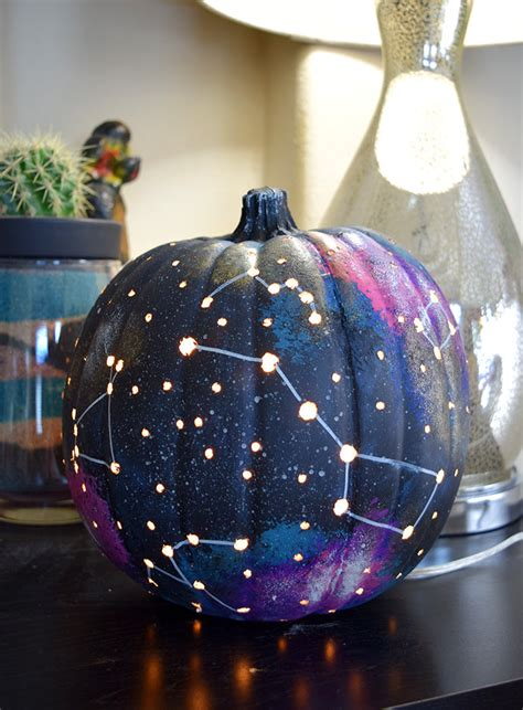 Guest Bedroom Ideas - galaxy pumpkin an out of this world jack o lantern dream a little bigger
