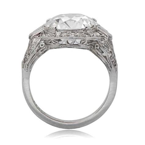 5 12ct art deco antique engagement ring estate diamond