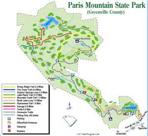 Paris Mountain State Park Map by La Vita 232 Troppo Breve Per Dottore Gianni A Morning At