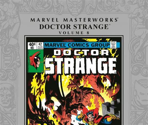 The Strange Library Ushardback marvel masterworks doctor strange vol 8 hardcover comic books comics marvel