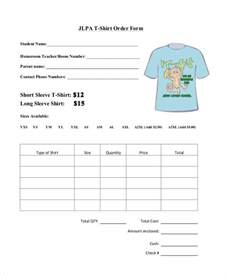t shirt template pdf t shirt order form template free premium