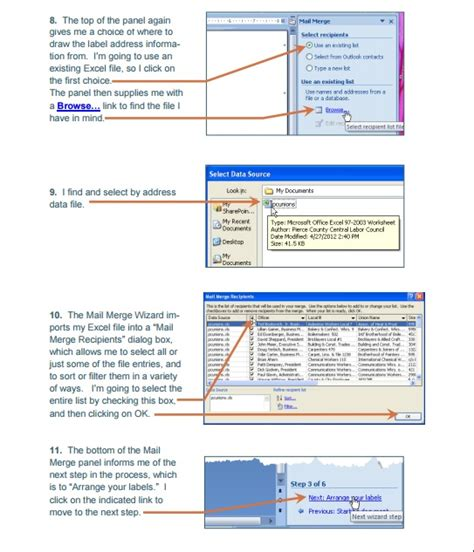 microsoft excel word how to mail merge setup symplebyte