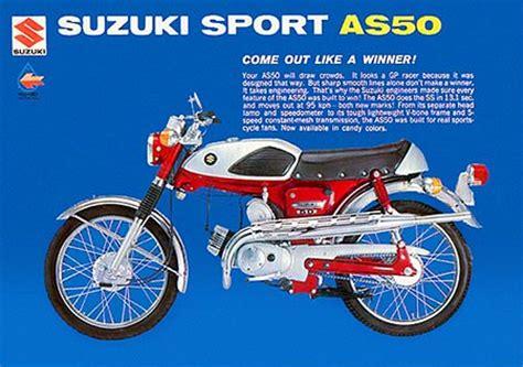 Suzuki Sport Brochure Pdf Suzuki Sales Brochures Classic Motorbikes